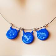 """Halssmykke """"Varistoria blue"""""""